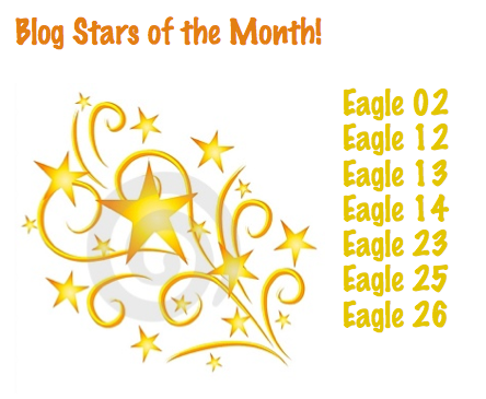 Monthly blog stars